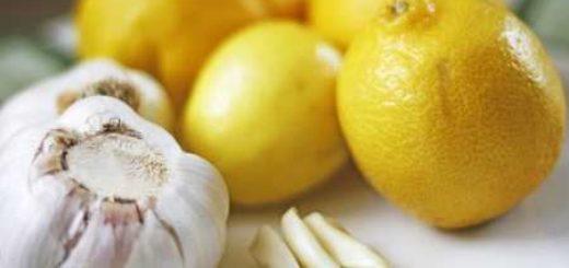 Лимон и чеснок против повышенного холестерина